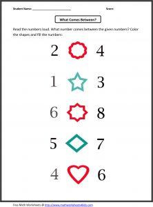 Learning Numbers Kindergarten