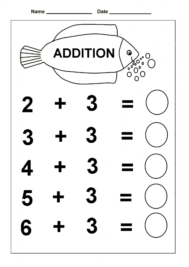 simple addition kindergarten math practice worksheets. Black Bedroom Furniture Sets. Home Design Ideas