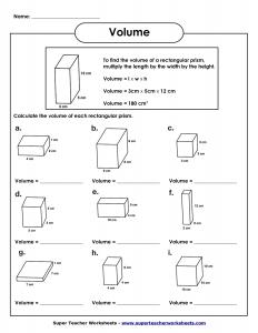 Measuring Volumes of Rectangular Prisms