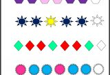 Patterns Practice Worksheet for 2nd Grade