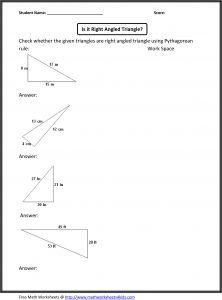 Right Triangles - Pythagorean